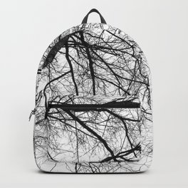 Bare Branches Hold Heart Nest Backpack