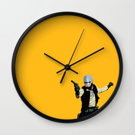 SoloCop Wall Clock