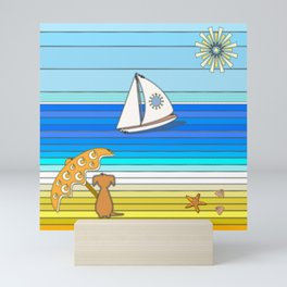 Summertime and the Living is Easy Mini Art Print