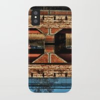 pagan iPhone & iPod Cases featuring Pagan River Bridge by Anthony M. Davis