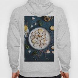 Santa's Christmas Cookies (Color) Hoody
