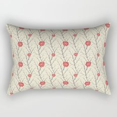 Branch & Roses Rectangular Pillow