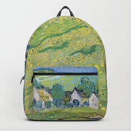 """Les Vessenots"" in Auvers by Vincent van Gogh Backpack"