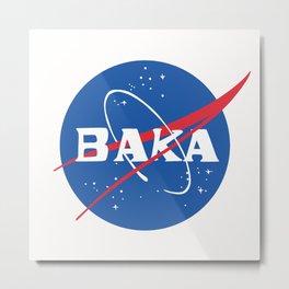 BAKA Metal Print