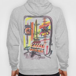 Abstract portrait 66 Hoody