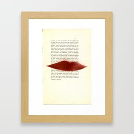 UE1302 (Man Ray Deluxe) - Drawing #9 Framed Art Print