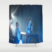 niall horan Shower Curtains featuring Harry Styles.Niall Horan by Halle