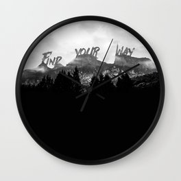 Wisdom of Nature Wall Clock