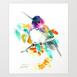 Cute Little Hummingbird Art Print
