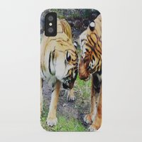 tigers iPhone & iPod Cases featuring Tigers by Irene Jaramillo