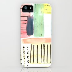 Dots and Stripes (pastels) iPhone (5, 5s) Slim Case
