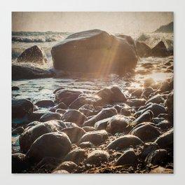 Starlets - Winter Baltic Sea Serie Canvas Print