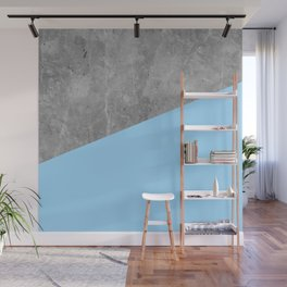 Geometry 101 Blue Raspberry Wall Mural