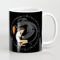 xenomorph Mugs featuring Ripley, the Alien and Jonesy by Rob O'Connor