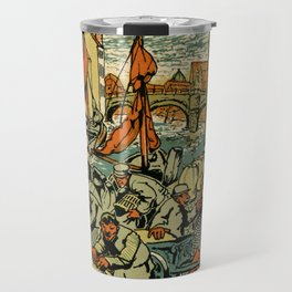 Mechelen Mosselkaai 1900 Travel Mug