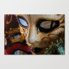 """Maschera Nobile"" Canvas Print"