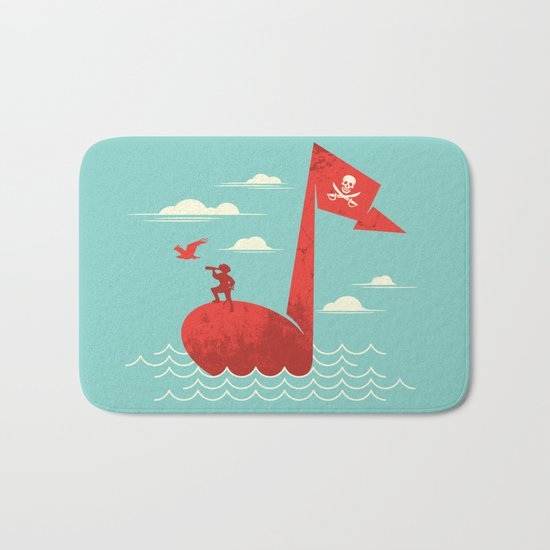 the pirate's song Bath Mat
