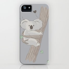 I Love You Too iPhone Case