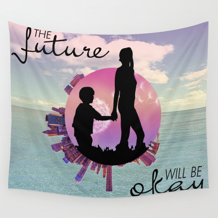 the future Wall Tapestry