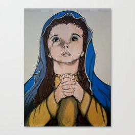The Holy Child Mary Canvas Print