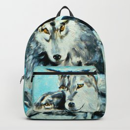 Our Brothers, the Wolves Backpack