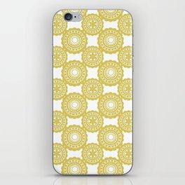 Mustard iPhone Skin