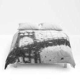 Rainy Bridge Comforters