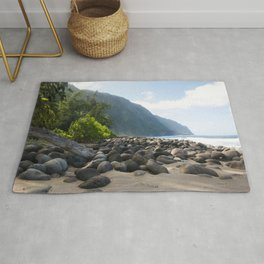 The Escape from the Kalaupapa Trail to the Beach Rug