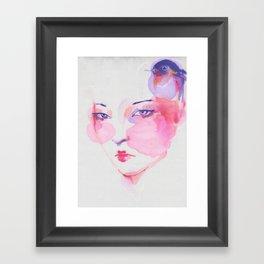 Chinese Girl 2. Framed Art Print