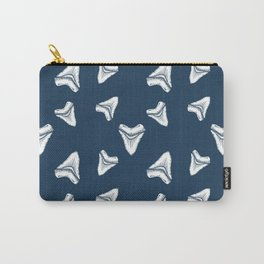 Sharks Tooth Pattern Carry-All Pouch