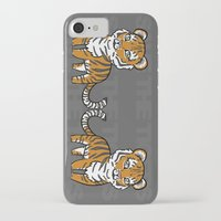 tigers iPhone & iPod Cases featuring TIGERs by hoshi-kou