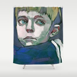 OSKAR Shower Curtain
