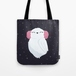 I Heart Earmuffs Tote Bag