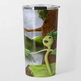Growth of a seed Travel Mug