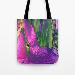 Wallflower Abstract Tote Bag