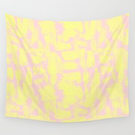 pink yellow Wall Tapestry
