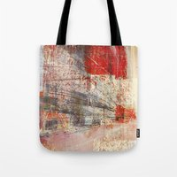 subway Tote Bags featuring Subway by Fernando Vieira