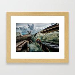 World War II Relic  Framed Art Print