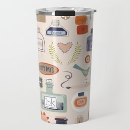 Ink and Things for Writers Travel Mug