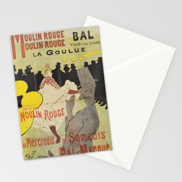 "Henri de Toulouse-Lautrec ""La Goulue"" Stationery Cards"