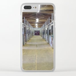 Stable of Dreams Clear iPhone Case