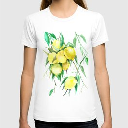 Lemon Tree. lemons kitchen design decor T-shirt