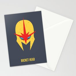 Nova - Bucket-Head Stationery Cards