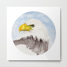 Watch out! Metal Print
