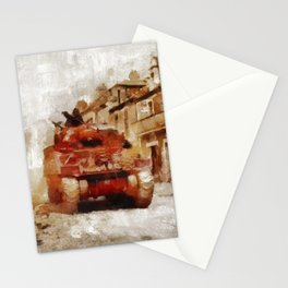 Advance Through Normandy, WWII Stationery Cards