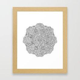 The inner mind number 1 Framed Art Print