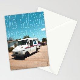 Odesert V (w/ text) Stationery Cards