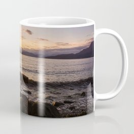 Summer Sunset Over Water Vancouver, British Columbia, Canada Coffee Mug
