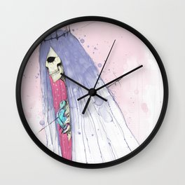 Young Death Wall Clock