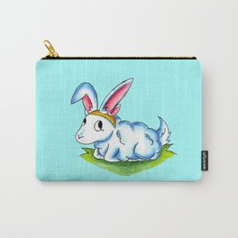 Bunny Fluff Carry-All Pouch